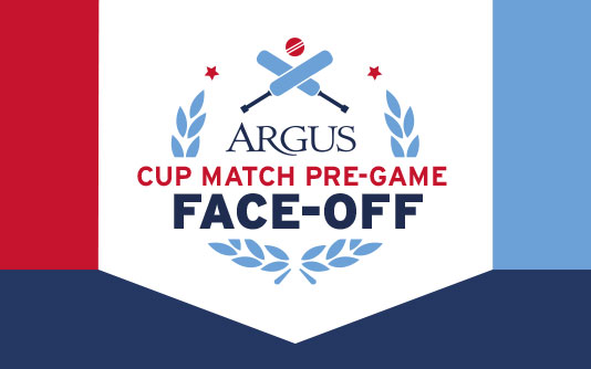 Team Winner of Argus Cup Match Pre-Game Face Off Announced banner