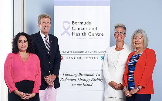 Bermuda Cancer and Health Centre announce substantial donation towards Radiation Therapy initiative from Argus and BF&M banner