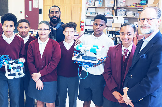 Argus Donates $13,000 to Sandys Secondary Middle School STEM Programme